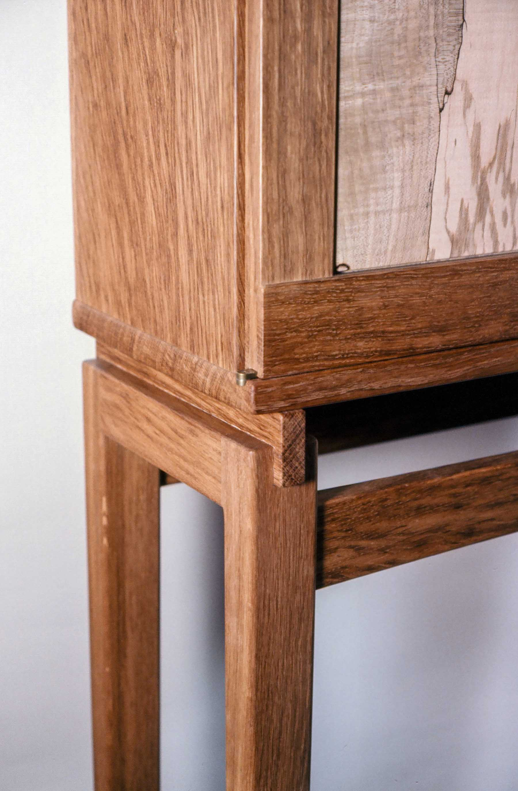Cabinet of English Brown Oak