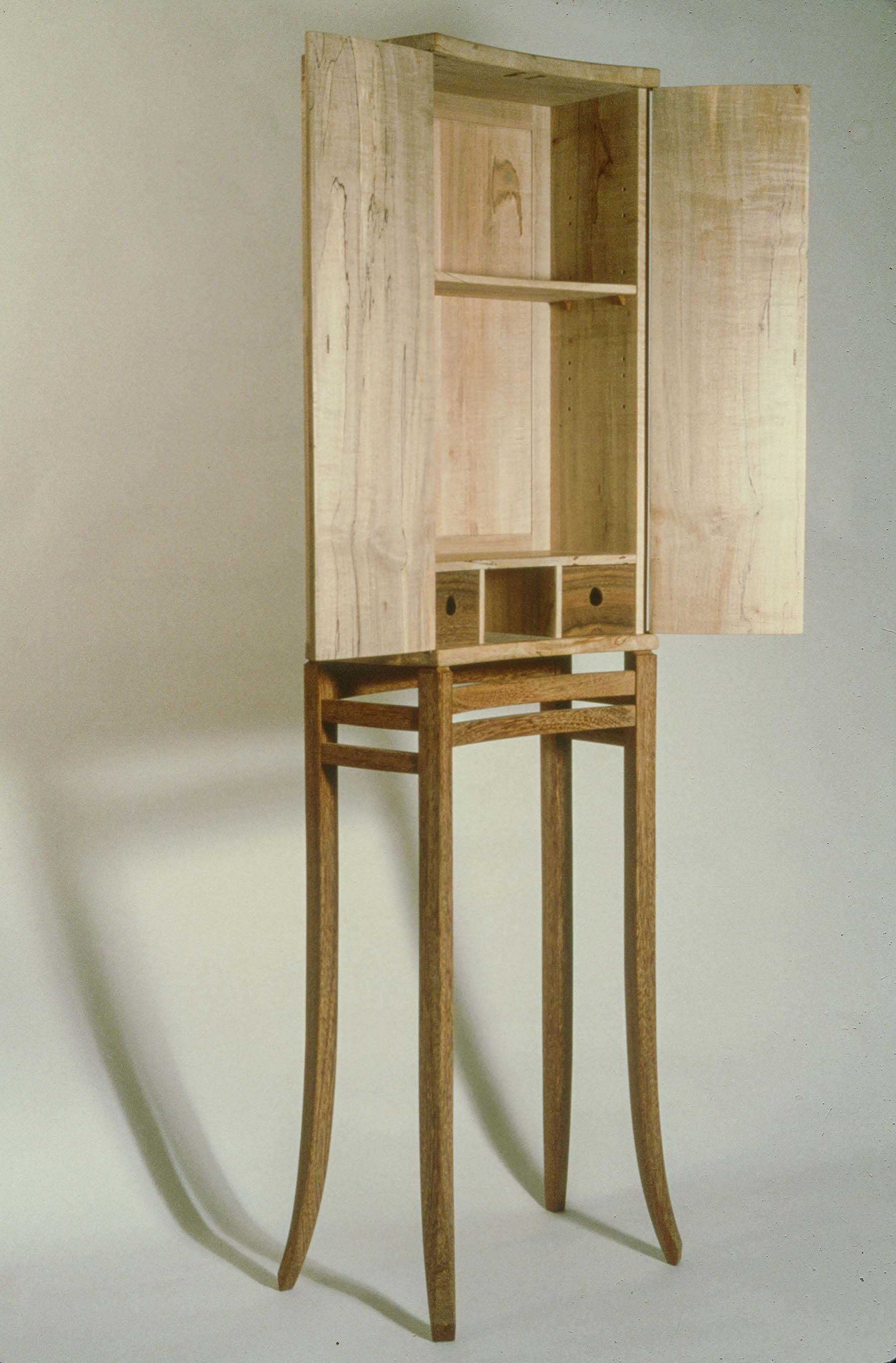 Cabinet of Spalted Maple
