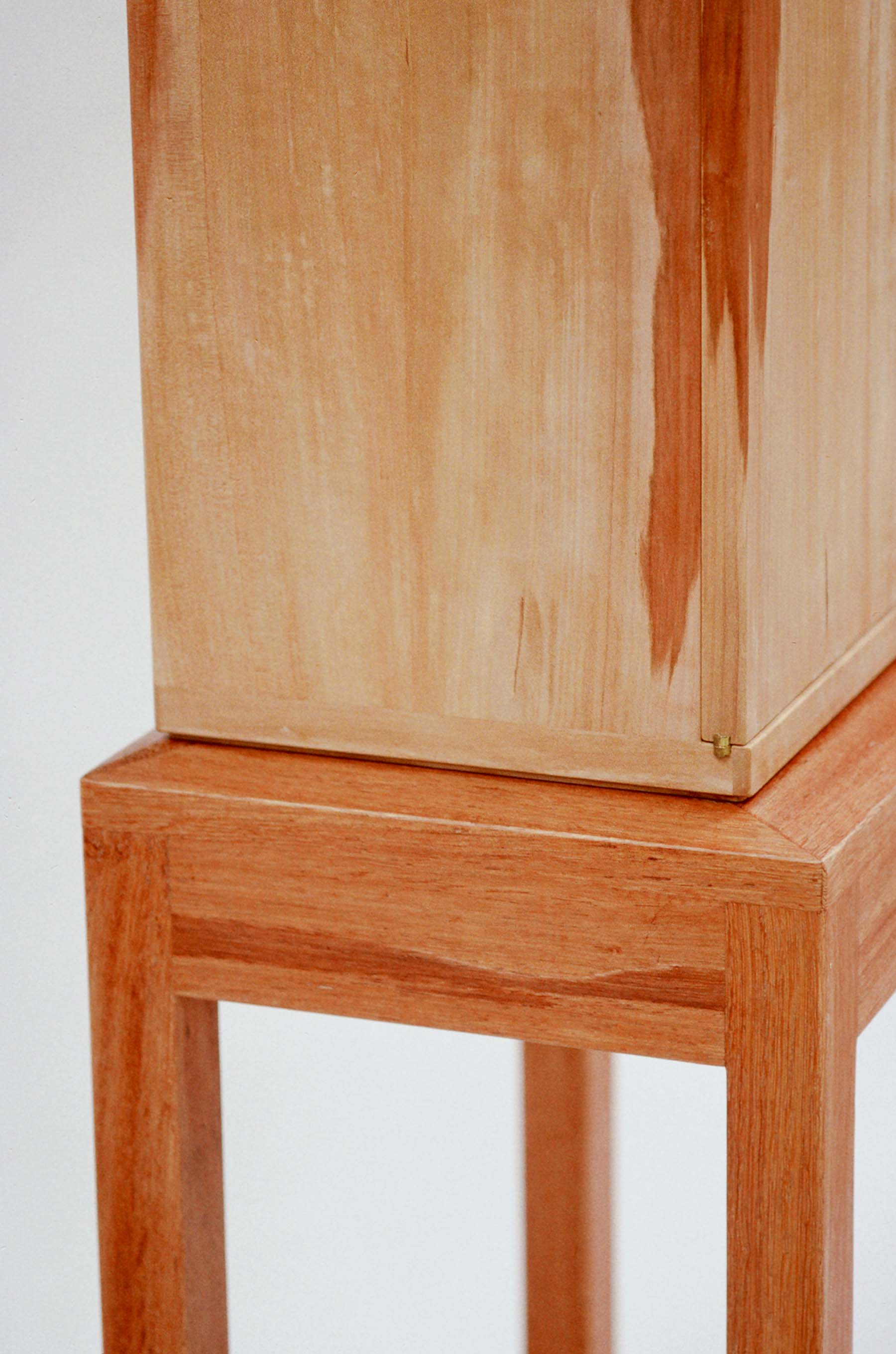 Cabinet in Unsteamed Pear Wood